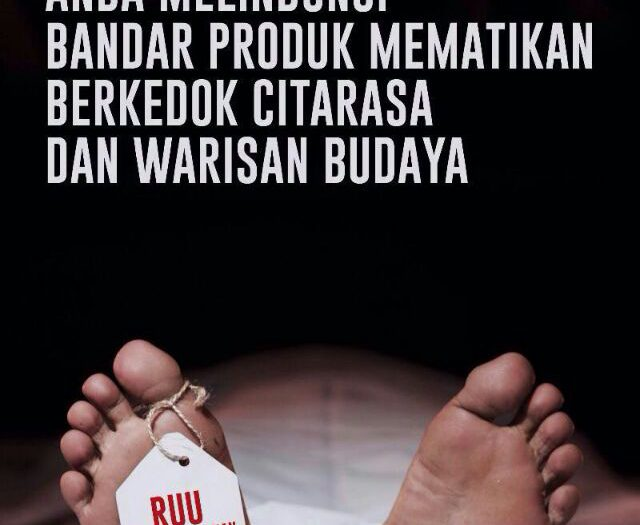 #TolakRUUPertembakauan