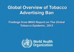 Global Overview of Tobacco Advertising Ban