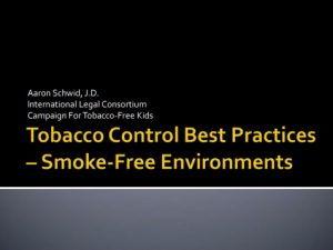 Indonesia Smoke Free Harms and Policy