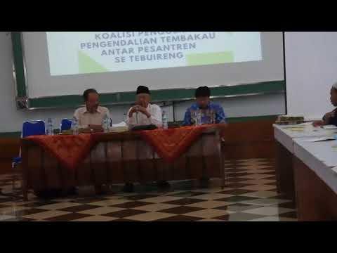 Gus Sholahudin Wahid pengandalian rokok di Indonesia