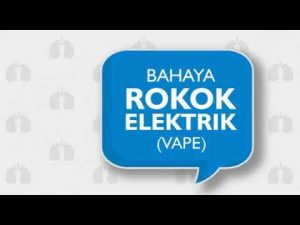 Apa sih bahaya rokok electric (Vape)