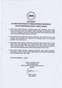 Deklarasi AMKRI Indonesia