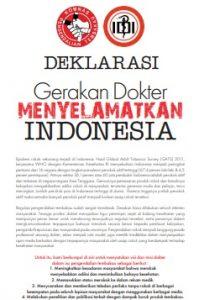 Deklarasi Gerakan Dokter Menyelematkan Indonesia