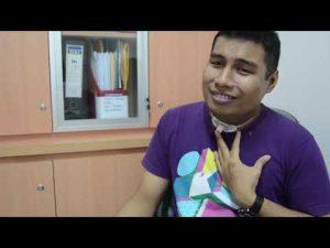 Kisah Robby Penderita Kanker Laring Akibat Rokok