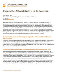 Affordabilty in Indonesia