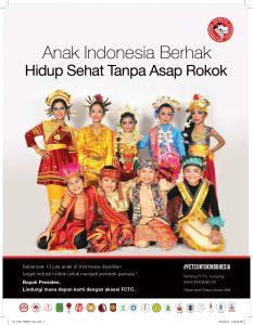 Anak Indonesia Berhak Hidup Sehat Tanpa Asap Rokok