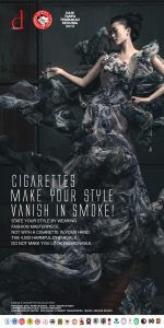 CIGARETTES MAKE YOUR STYLE VANISH IN SMOKE