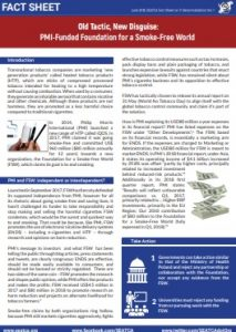 Fact Sheet Old Tactics New Disguise SFW by PMI SEATCA 2018