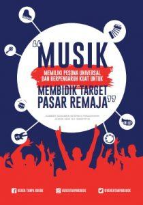 Infografik Musik dan Sponsor Rokok - April 2017