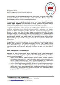 Pernyataan Sikap AMKRI Untuk Media