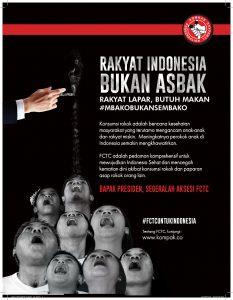 RAKYAT INDONESIA BUKAN ASBAK