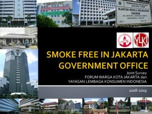 SMOKE FREE GOV OFFICE FAKTA 2008-2009