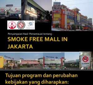 SMOKE FREE MALL FAKTA 2008