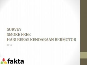 SURVEY SMOKE FREE CFD 2016
