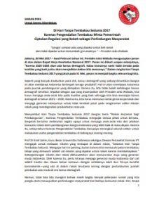 Siaran Pers HTTS 2017 oleh Komnas PT