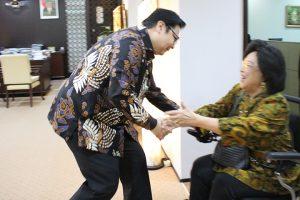 Menteri Perindustrian Menerima Kunjungan Dewan Penasehat Komisi Nasional Pengendalian Tembakau