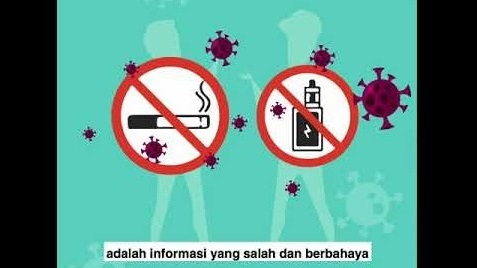 Rokok Meningkatkan Risiko Infeksi dan perparah COVID19