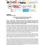 Tak Seharusnya Pemerintah Bermitra dengan Organisasi Afiliasi Industri Rokok