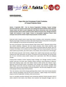 Hapus Iklan dan Pemajangan Produk Tembakau