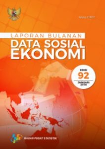 Laporan_Data Sosial Ekonomi Jan 2018_Susenas BPS_2018