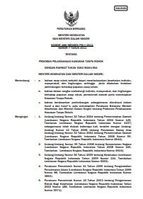 Regulasi_Peraturan Bersama 188_2011_Menkes _ Mendagri_2011