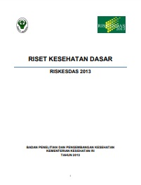 Riset_Riskesdas 2013_Balitbang Kemenkes_2013