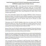 Desak Penyelesaian Revisi PP 109/2012, Koalisi Masyarakat Peduli Kesehatan (KOMPAK) Layangkan Somasi ke Menkes Terawan