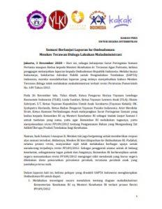 Somasi Berlanjut Laporan ke Ombudsman Menkes Terawan Diduga Lakukan Maladministrasi
