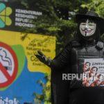 In Picture: Aksi Somasi Revisi PP No 109/2012 Tentang Zat Adiktif