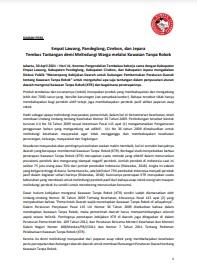 Empat Lawang, Pandeglang, Cirebon, dan Jepara Tembus Tantangan demi Melindungi Warga melalui Kawasan Tanpa Rokok