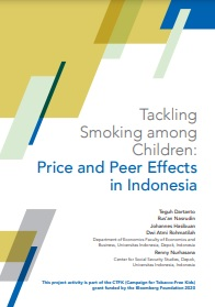 Tackling Smoking among Children - Price and Peer Effects in Indonesia